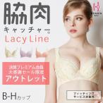 脇肉キャッチャー Lacy Line ピンク B C D E F G H(ブラジャー/補正/ブラ/脇肉/大きいサイズ/補正下着/脇高)