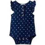 Splendid Littles スプレンデッド 女の子用 ファッション 子供服 ベビー服 赤ちゃん ワンピース Always Indigo Bodysuit with Star Print (Infant) - Dark
