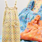今治タオル バスローブ isso ecco(イッソエッコ) ポップカラー バスドレス 七福タオル ラップドレス かわいい 水玉模様 ドット柄   名入れ・刺繍は