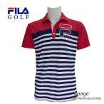 フィラ ゴルフ メンズ 半袖ボーダーシャツ 747641