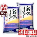 お米 10kg 新潟産コシヒカリ 山並 令和元年産 5kg×2袋 送料無料 (北海道、九州、沖縄除く)