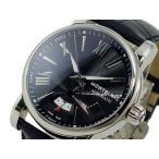 【送料無料】モンブラン MONTBLANC スター STAR 自動巻き 腕時計 102341 ブラック(266267)