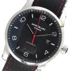 【送料無料】モンブラン MONTBLANC タイムウォーカー 自動巻き メンズ 腕時計 115361 ブラック(552764)