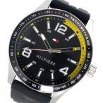 【送料無料】トミー ヒルフィガー TOMMY HILFIGER クオーツ メンズ 腕時計 1791174 ブラック(551916)