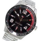 【送料無料】トミー ヒルフィガー TOMMY HILFIGER クオーツ メンズ 腕時計 1791176 ブラック(551917)