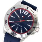 【送料無料】トミー ヒルフィガー TOMMY HILFIGER クオーツ メンズ 腕時計 1791261 ネイビー(551918)