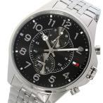 【送料無料】トミー ヒルフィガー TOMMY HILFIGER クオーツ メンズ 腕時計 1791276 ブラック(527872)