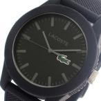 【送料無料】ラコステ LACOSTE  クオーツ メンズ 腕時計 2010766 ブラック(552946)