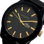 【送料無料】ラコステ LACOSTE  クオーツ メンズ 腕時計 2010818 ブラック(552949)