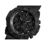 【送料無料】ルミノックス LUMINOX ネイビーシールズ クロノ 腕時計 3081 BLACK OUT(31272)