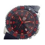 【送料無料】ルミノックス LUMINOX クロノグラフ 腕時計 3195CR ブラック&レッド(261153)