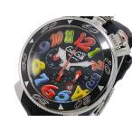 【送料無料】ガガミラノ GAGA MILANO メンズ 腕時計 6050-2-BLK(278811)