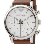 【送料無料】エンポリオ アルマーニ ルイージ クオーツ クロノ 腕時計 AR1846 ホワイト(508139)