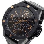 【送料無料】アルマーニ エクスチェンジ クオーツ クロノ メンズ 腕時計 AX1513 ブラック(513746)
