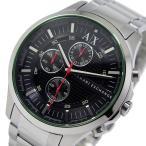 【送料無料】アルマーニ エクスチェンジ クオーツ クロノ メンズ 腕時計 AX2163 ブラック(513766)