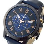 【送料無料】フォッシル FOSSIL クロノ クオーツ メンズ 腕時計 FS5061 ネイビー(538098)