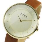 【送料無料】スカーゲン SKAGEN クオーツ レディース 腕時計 SKW2138 シャンパンゴールド(520902)