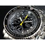【送料無料】セイコー SEIKO クロノグラフ アラーム 腕時計 SNA411P1(6583)