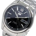 【安い】セイコー SEIKO セイコーファイブ 自動巻き メンズ 腕時計 SNKL55K1 ブラック(514507)