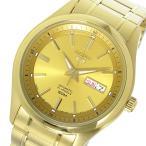 【送料無料】セイコー SEIKO セイコー5 自動巻き メンズ 腕時計 SNKN96J ゴールド(527559)