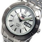 【送料無料】セイコー SEIKO 自動巻き メンズ 腕時計 SRP295J1 シルバー(514638)