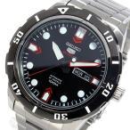 【送料無料】セイコー SEIKO 自動巻き メンズ 腕時計 SRP673J1 ブラック(514642)