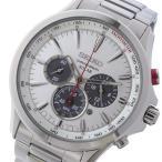 【送料無料】セイコー SEIKO クロノ ソーラー メンズ 腕時計 SSC491P1 シルバー(530774)