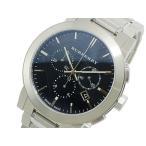 バーバリー BURBERRY クオーツ メンズ クロノ 腕時計 BU9351 ブラック