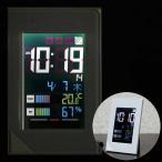 Yahoo!いま何度温湿度計つきLED電波時計「デジスタイル114」8RZ123RH03(壁掛・卓上)
