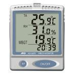ショッピング熱中症 WBGT計:A&D熱中症指数モニターAD-5693〜送料無料