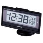 車用時計:ナポレックス製デジタル薄型電波時計Fizz-960〜〒郵送可¥260