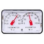 温湿度計:小型精密アナログ温湿度計HD-120〜〒郵送可¥320