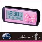 車用時計:ミニー(ディズニー)電波時計WN-5〜〒郵送可¥260