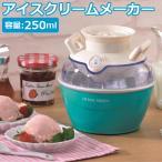 アイスクリームメーカー 簡単 手作り 食べきりサイズ コンパクト 小型 かわいい おしゃれ HOME SWAN SIC-25H