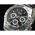 エルジン ELGIN ダイバーズ 腕時計 クロノグラフ メンズ FK1059S-B ブラック×シルバー メタルベルト