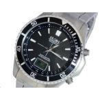 エルジン ELGIN 電波ソーラー メンズ チタン 腕時計 FK1396TI-BP