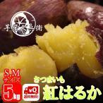 茨城県産 さつまいも 追熟 紅はるか S,Mサイズ 5kg箱