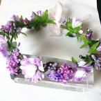 花かんむり 髪飾り 花冠 カチューシャ 結婚式 発表会 七五三 フラワーガール