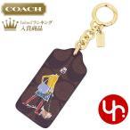 コーチ COACH アクセサリー キーホルダー F58504 ゴールド×ブラック シグネチャー ボニー カシン バッグ チャーム キーリング アウトレット レディース