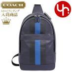 コーチ COACH バッグ ショルダーバッグ F72226 ミッドナイト×デニム チャールズ ヴァーシティ スムースレザー ボディー バッグ メンズ レディース