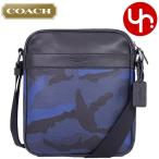 コーチ COACH バッグ ショルダーバッグ F57564 インディゴカモフラージュ×ブラック カモフラージュ プリント フライト バッグ メンズ レディース