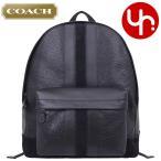 コーチ COACH バッグ リュック F11250 ブラック チャールズ ベースボール ステッチ ミックスド マテリアル レザー バックパック メンズ レディース