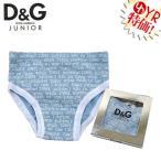 D&Gジュニア D&G junior アパレル アンダーウェア L13010 ブルー×ホワイト I am in love with D&Gパンツ 3/6M ベビー