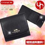 コーチ COACH 財布 三つ折り財布 F53768 ラグジュアリー クロスグレーン レザー スモール ウォレット アウトレット レディース