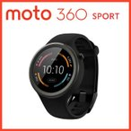 Moto 360 sport Smartwatchスマートウォッチ ブラック第2世代 Android Wear iOS対応 (輸入品)