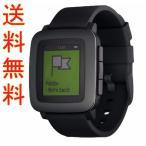 Pebble Time ペブル タイム Smart Watch スマートウォッチ 腕時計 (ブラック) (輸入品)