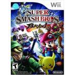 ショッピングWii Wii ソフト スーパー スマッシュ ブロス Super Smash Bros Brawl 任天堂 送料無料 並行輸入 新品