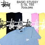 ステューシー 半袖Tシャツ STUSSY BASIC STUSSY S/SL TEE ショートスリーブティーシャツ・カットソー・トップス・メンズ(男性用)
