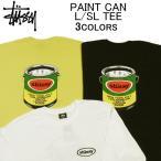 ステューシー 長袖Tシャツ STUSSY PAINT CAN L/SL TEE ロンティー(ロングスリーブティーシャツ・ロンT)・カットソー・トップス・メンズ(男性用)