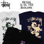 ステューシー 半袖Tシャツ STUSSY REGAL S/SL TEE ショートスリーブティーシャツ・カットソー・トップス・メンズ(男性用)